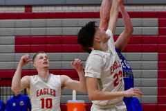 CIAC Boys Basketball; Wolcott 69 vs. East Hampton 63 - Photo # 609