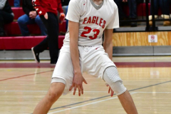 CIAC Boys Basketball; Wolcott 69 vs. East Hampton 63 - Photo # 714