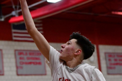 CIAC Boys Basketball; Wolcott 69 vs. East Hampton 63 - Photo # 743