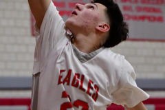 CIAC Boys Basketball; Wolcott 69 vs. East Hampton 63 - Photo # 745