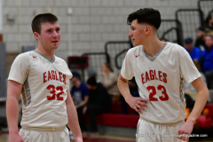 CIAC Boys Basketball; Wolcott 69 vs. East Hampton 63 - Photo # 773