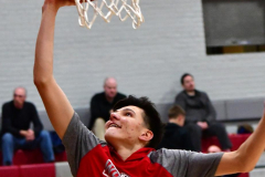 CIAC Boys Basketball; Wolcott 81 vs. Oxford 74 - Photo # 076
