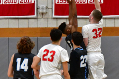 CIAC Boys Basketball; Wolcott 81 vs. Oxford 74 - Photo # 219