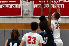 CIAC Boys Basketball; Wolcott 81 vs. Oxford 74 - Photo # 220