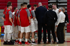 CIAC Boys Basketball; Wolcott 81 vs. Oxford 74 - Photo # 484