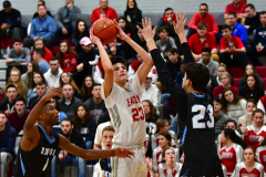 CIAC Boys Basketball; Wolcott 81 vs. Oxford 74 - Photo # 516