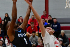 CIAC Boys Basketball; Wolcott 81 vs. Oxford 74 - Photo # 518
