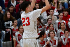 CIAC Boys Basketball; Wolcott 81 vs. Oxford 74 - Photo # 636