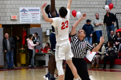 CIAC Boys Basketball; Wolcott vs. Ansonia - Photo # (171)