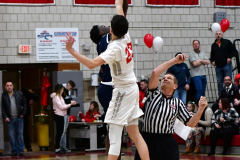 CIAC Boys Basketball; Wolcott vs. Ansonia - Photo # (172)