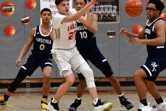 CIAC Boys Basketball; Wolcott vs. Ansonia - Photo # (208)