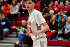 CIAC Boys Basketball; Wolcott vs. Ansonia - Photo # (212)