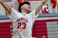 CIAC Boys Basketball; Wolcott vs. Ansonia - Photo # (229)