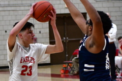 CIAC Boys Basketball; Wolcott vs. Ansonia - Photo # (312)