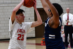 CIAC Boys Basketball; Wolcott vs. Ansonia - Photo # (313)
