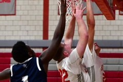 CIAC Boys Basketball; Wolcott vs. Ansonia - Photo # (325)