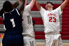 CIAC Boys Basketball; Wolcott vs. Ansonia - Photo # (326)