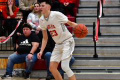 CIAC Boys Basketball; Wolcott vs. Ansonia - Photo # (409)