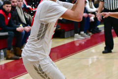 CIAC Boys Basketball; Wolcott vs. Ansonia - Photo # (439)