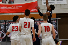 CIAC Boys Basketball; Wolcott vs. Ansonia - Photo # (491)