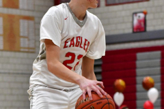 CIAC Boys Basketball; Wolcott vs. Ansonia - Photo # (495)