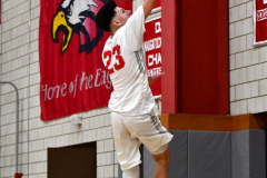 CIAC Boys Basketball; Wolcott vs. Ansonia - Photo # (508)
