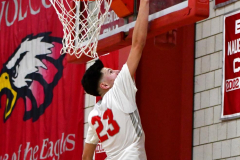 CIAC Boys Basketball; Wolcott vs. Ansonia - Photo # (509)