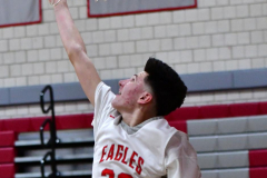 CIAC Boys Basketball; Wolcott vs. Ansonia - Photo # (579)