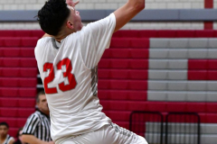 CIAC Boys Basketball; Wolcott vs. Ansonia - Photo # (596)
