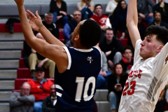 CIAC Boys Basketball; Wolcott vs. Ansonia - Photo # (776)