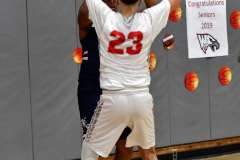 CIAC Boys Basketball; Wolcott vs. Ansonia - Photo # (812)
