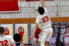CIAC Boys Basketball; Wolcott vs. Ansonia - Photo # (821)