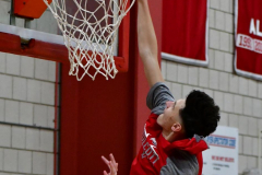 CIAC Boys Basketball; Wolcott vs. Ansonia, Pregame - Photo # (100)