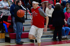 CIAC Boys Basketball; Wolcott vs. Ansonia, Pregame - Photo # (109)