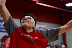 CIAC Boys Basketball; Wolcott vs. Ansonia, Pregame - Photo # (134)
