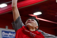 CIAC Boys Basketball; Wolcott vs. Ansonia, Pregame - Photo # (135)