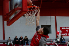 CIAC Boys Basketball; Wolcott vs. Ansonia, Pregame - Photo # (45)