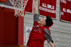 CIAC Boys Basketball; Wolcott vs. Ansonia, Pregame - Photo # (61)