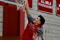 CIAC Boys Basketball; Wolcott vs. Ansonia, Pregame - Photo # (62)