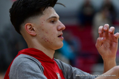 CIAC Boys Basketball; Wolcott vs. Ansonia, Pregame - Photo # (71)