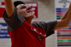 CIAC Boys Basketball; Wolcott vs. Derby, Pregame - Photo # (19)