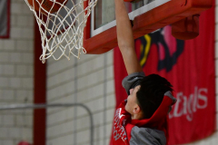 CIAC Boys Basketball; Wolcott vs. Derby, Pregame - Photo # (35)