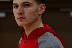 CIAC Boys Basketball; Wolcott vs. Derby, Pregame - Photo # (40)