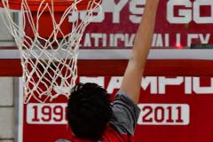 CIAC Boys Basketball; Wolcott vs. Derby, Pregame - Photo # (67)