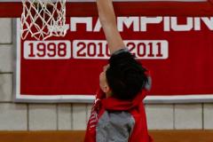 CIAC Boys Basketball; Wolcott vs. Derby, Pregame - Photo # (69)