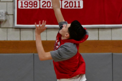 CIAC Boys Basketball; Wolcott vs. Derby, Pregame - Photo # (70)