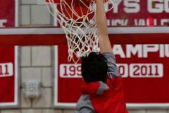 CIAC Boys Basketball; Wolcott vs. Derby, Pregame - Photo # (75)