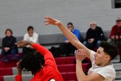 Gallery CIAC Boys Basketball; Wolcott vs. Derby - Photo # 384