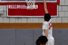 Gallery CIAC Boys Basketball; Wolcott vs. Derby - Photo # 413