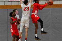 Gallery CIAC Boys Basketball; Wolcott vs. Derby - Photo # 436